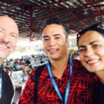 Edwin Tamasese - Attivista volontario durante l'epidemia di morbillo a Samoa